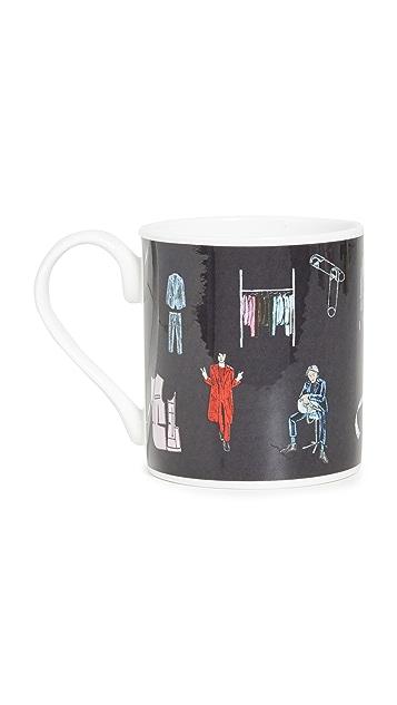 Paul Smith Circle Print Mug
