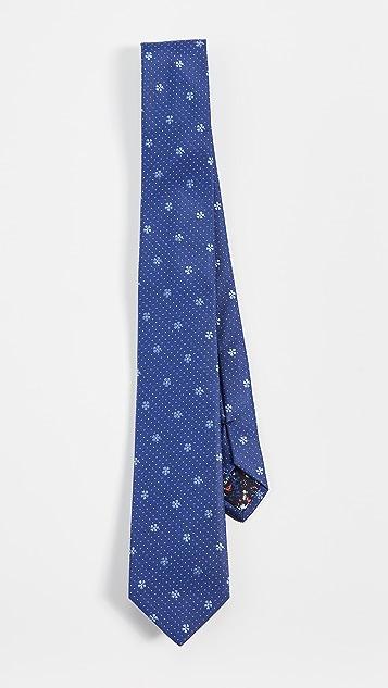 Paul Smith Flower Print Tie