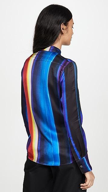 Paul Smith 彩虹条纹系扣衬衣