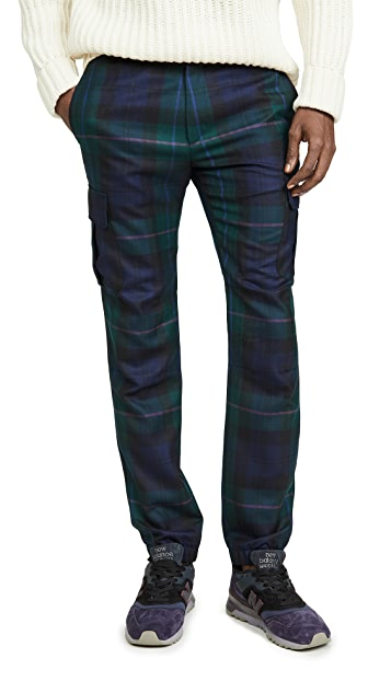 Paul Smith Plaid Combat Trousers