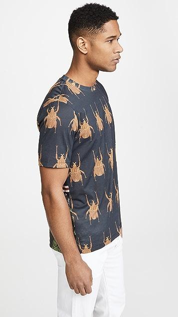 Paul Smith Beetle Print T-Shirt