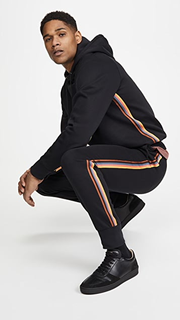 Paul Smith Multi Stripe Jogger Pants