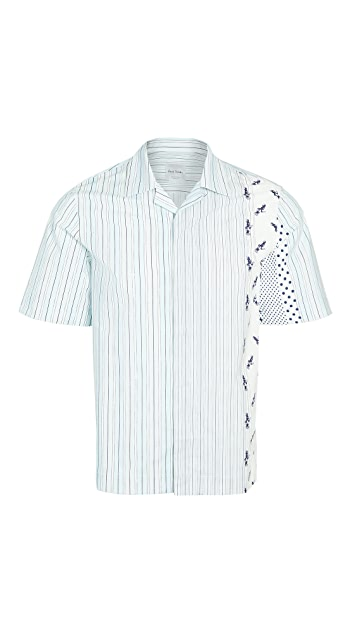 Paul Smith Multi Stripe Short Sleeve Shirt