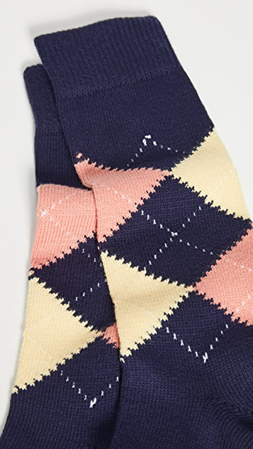Paul Smith Neville Argyle Socks