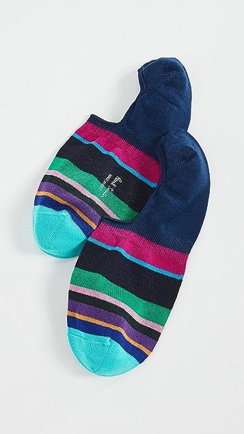 Paul Smith Nacho Stripe No Show Socks