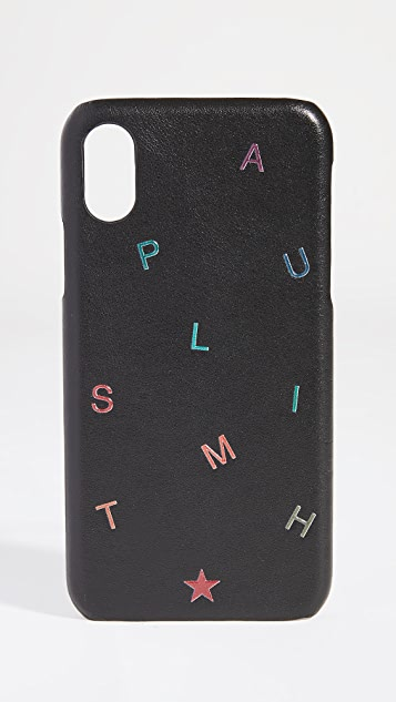 Paul Smith iPhone X / XS Letters Case