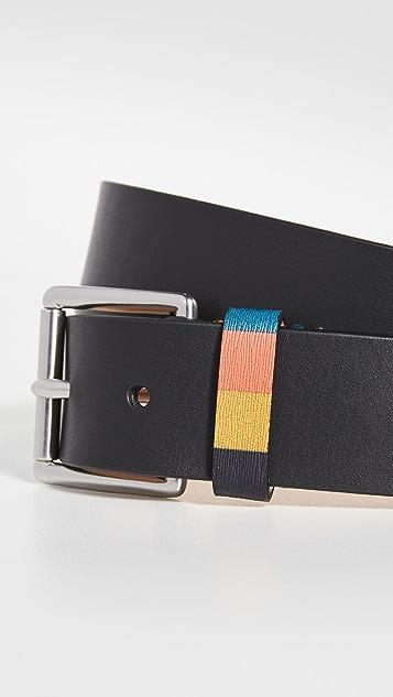 Paul Smith Bright Stripe Keeper Belt