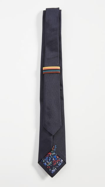 Paul Smith Printed Narrow Tie