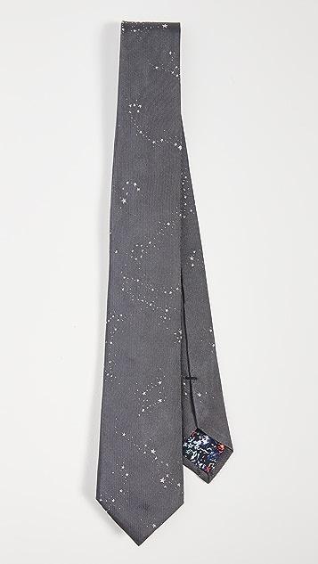 Paul Smith Splattered Stars Tie