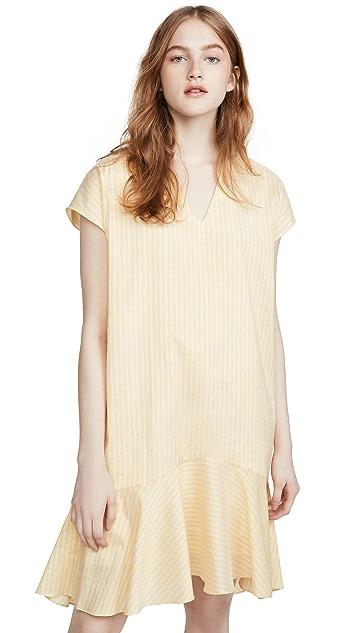 Paul Smith Stripe Vneck Dress