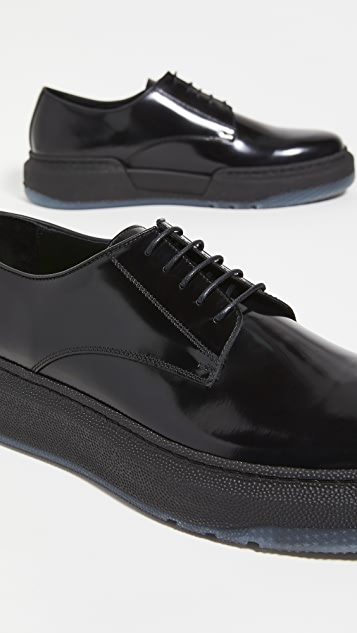 Paul Smith Gum Sole Leather Oxfords