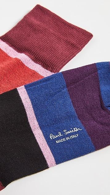 Paul Smith Oasis Stripe Socks