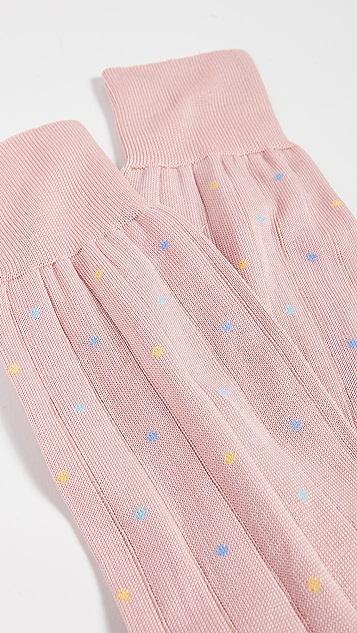 Paul Smith Pin Dot Rib Socks