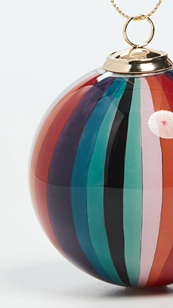 Paul Smith Painted Bauble Ornament