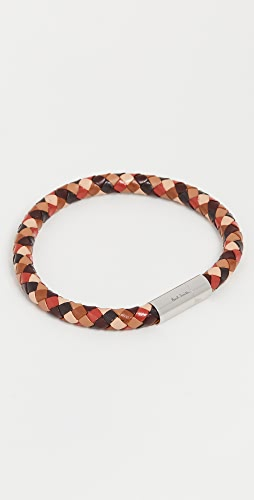 Paul Smith - Leather Plait Bracelet