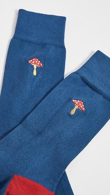 Paul Smith Gold Veg Socks