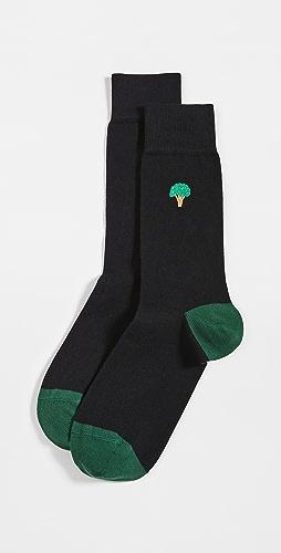 Paul Smith - Gold Veg Socks