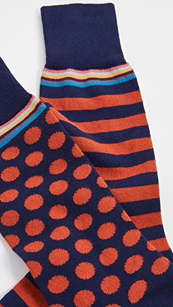 Paul Smith Men Multi 2 Pack Socks