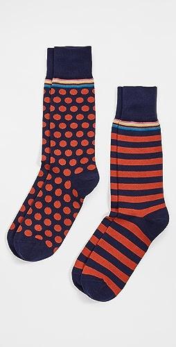 Paul Smith - Men Multi 2 Pack Socks