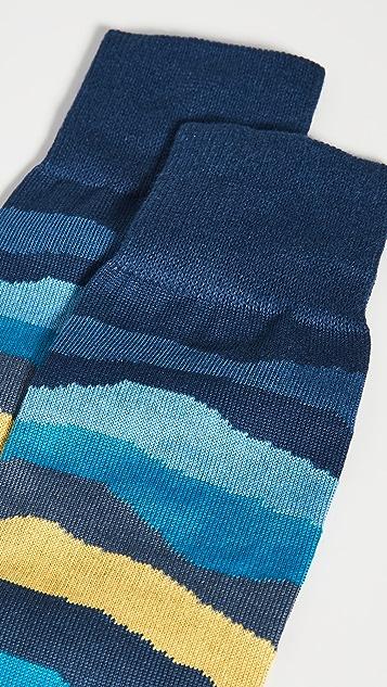Paul Smith Mountain Stripe Socks