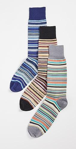 Paul Smith - 3 Pack Stripe Socks
