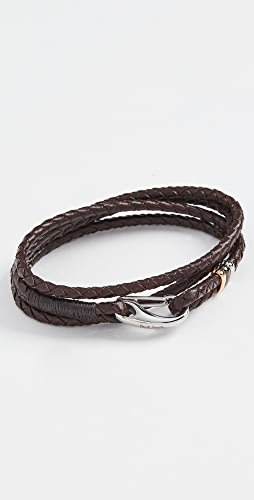 Paul Smith - Leather Wrap Bracelet