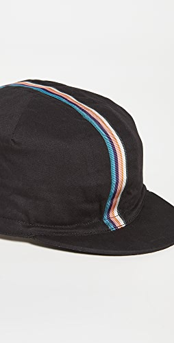 Paul Smith - Cycling Cap with Artist Stripe Webbing