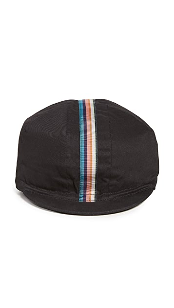 Paul Smith Cycling Cap with Artist Stripe Webbing