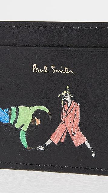 Paul Smith Dance Card Case