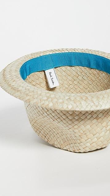 Paul Smith Men Hat Bovens Straw Hat