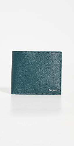 Paul Smith - Leather Billfold Wallet with Contrast Interior