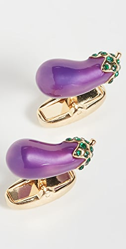 Paul Smith - Men Aubergine Cufflinks