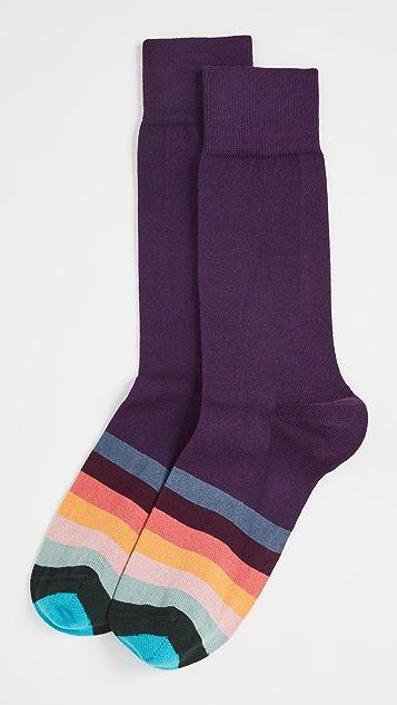 Paul Smith Quaver Artist Crew Socks