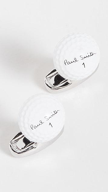 Paul Smith Men Cufflink Golf Ball