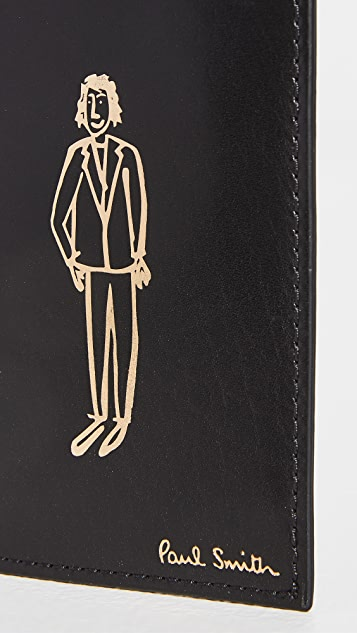 Paul Smith Leather Doodle Card Holder