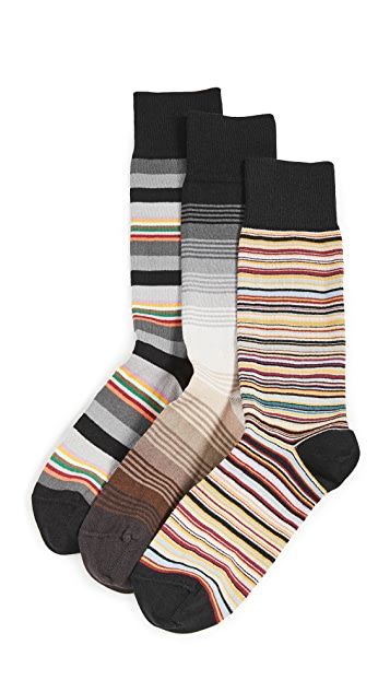 Paul Smith Mens Crew Sock Pack