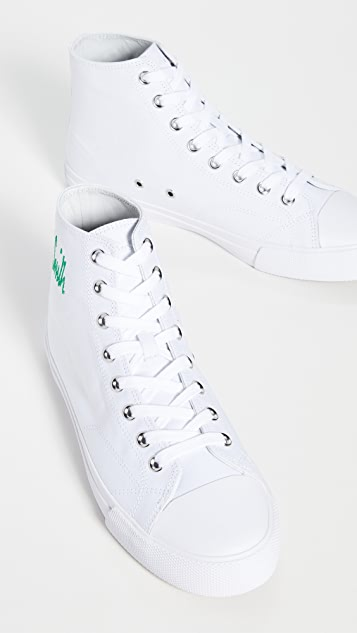Paul Smith Shoe Carver White Signature Sneakers