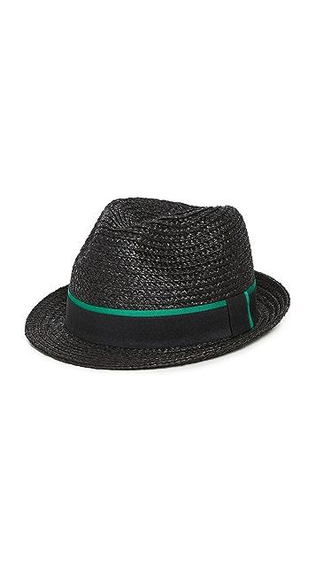 Paul Smith Trilby Straw Hat