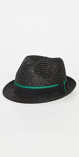 Paul Smith - Trilby Straw Hat