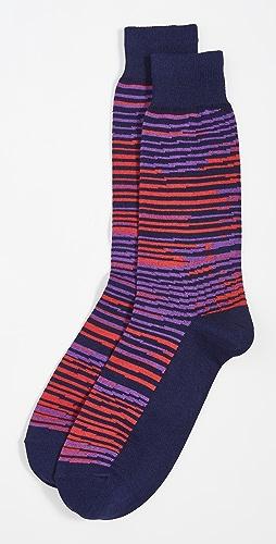 Paul Smith - Twisted Stripe Socks