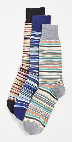 Paul Smith - Men's Signature Stripe Socks Three Pack