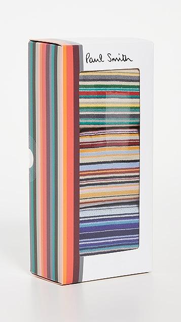 Paul Smith Men's Signature Stripe Socks Three Pack