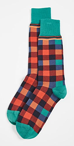 Paul Smith - Men Troy Check Socks