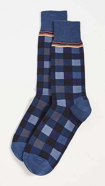Paul Smith Men Troy Check Socks