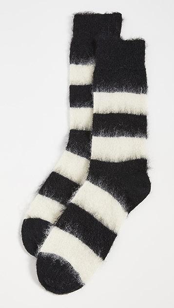 Paul Smith Men's Black Winter Dachshund Socks