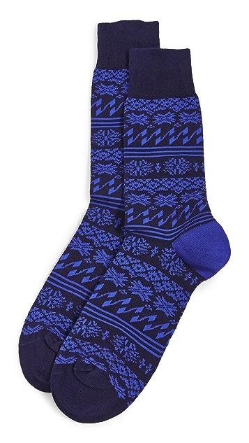 Paul Smith Men Modern Fair Isle Socks