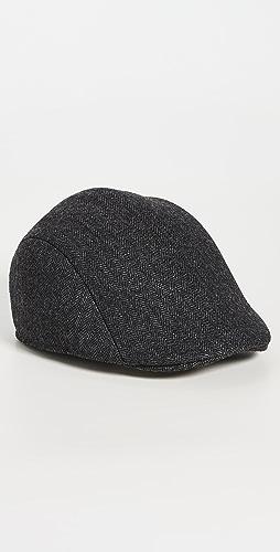 Paul Smith - Herringbone Flat Cap