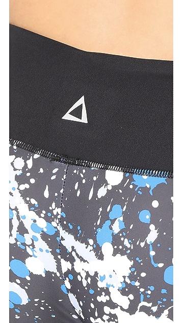 PRISMSPORT Splatter Capri Leggings