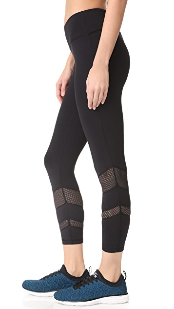 PRISMSPORT Candy Stripe 7/8 Leggings