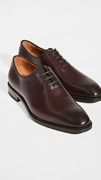Paul Stuart Lorenzo Lace Up Oxford Shoes